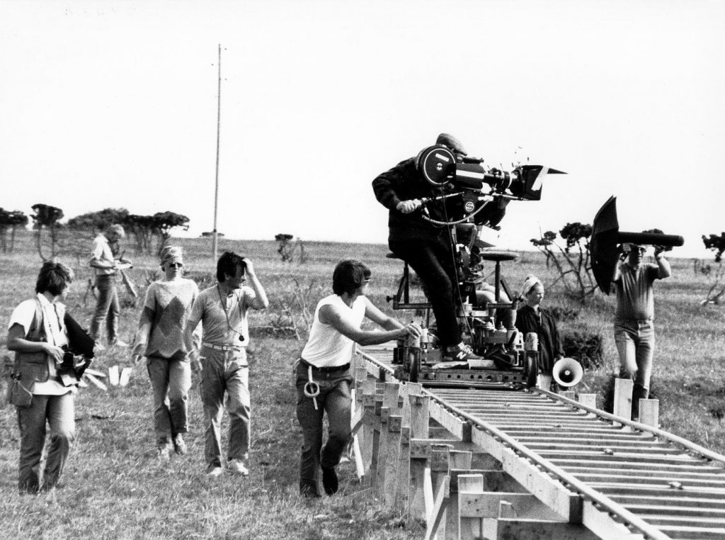 Tracking shot in film